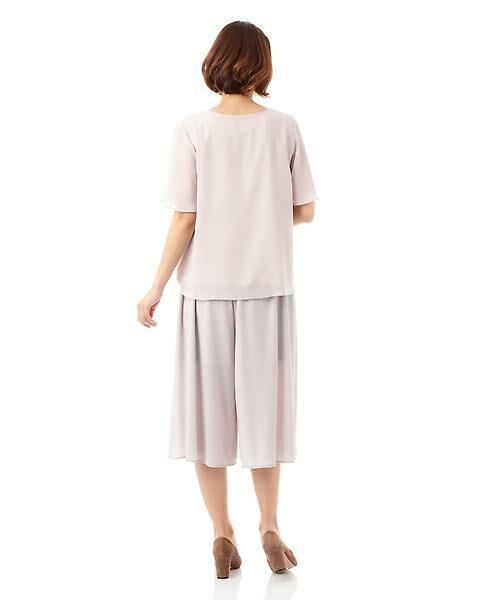 22 OCTOBRE / ヴァンドゥー・オクトーブル Tシャツ | [ウォッシャブル]サイドタックブラウソー | 詳細9