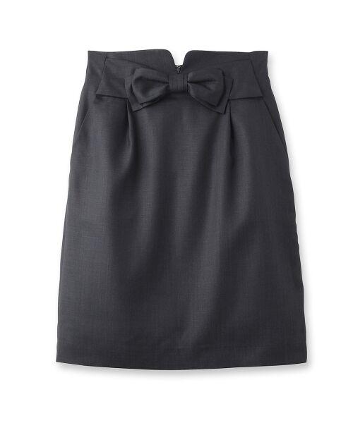 重ねリボンスカート【送料無料】