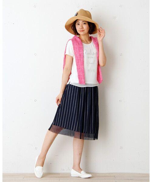 【再値下げ】チュールプリーツ スカート【送料無料】