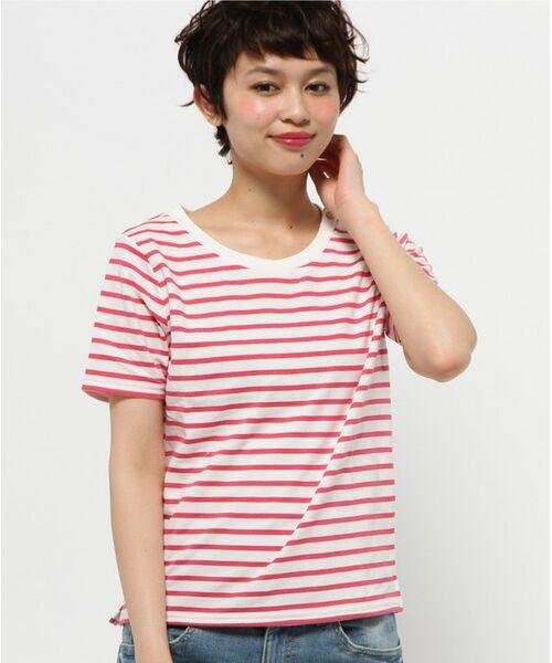 <タカシマヤ>送料無料!('15夏)【WEB限定サイズあり】フレンチマリンボーダー Tシャツ画像