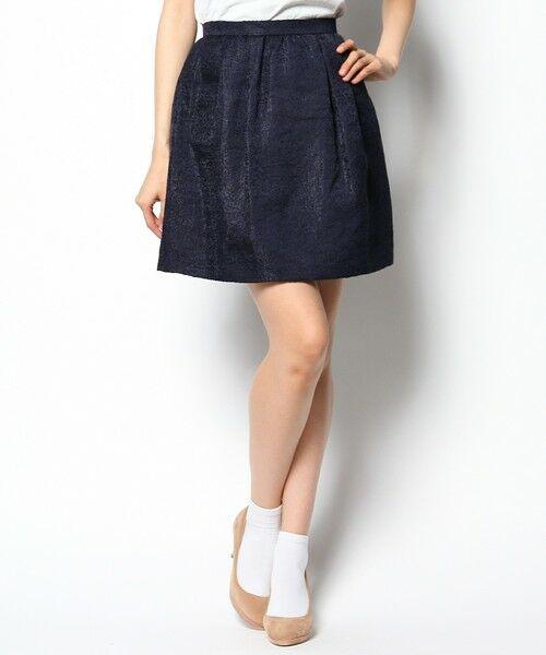 <タカシマヤ>送料無料!('14秋)フレアジャガードスカート画像