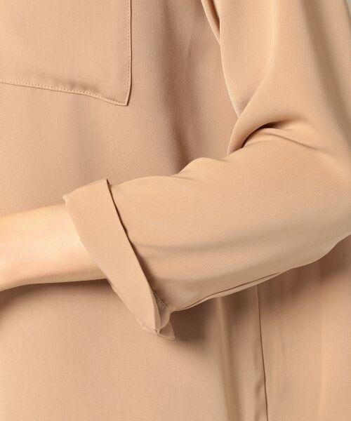 any SiS / エニィスィス Tシャツ | 【洗える】タックニュアンス ブラウス | 詳細10