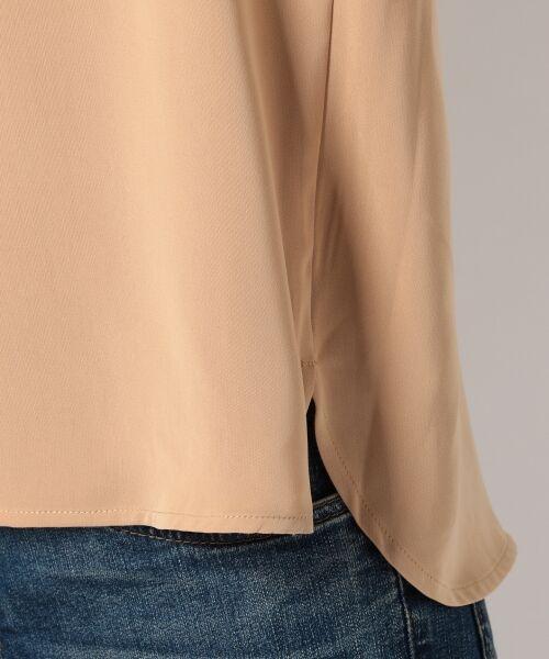 any SiS / エニィスィス Tシャツ | 【洗える】タックニュアンス ブラウス | 詳細8
