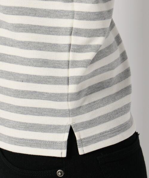 any SiS / エニィスィス Tシャツ | レーシーフレンチボーダー カットソー | 詳細10