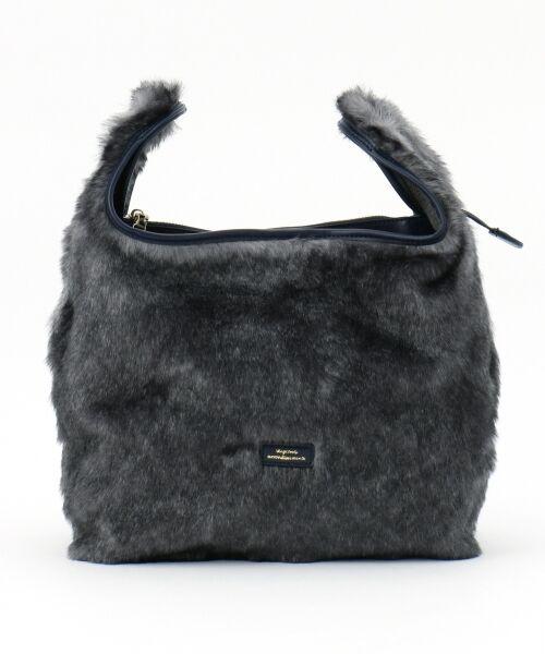 BAG selection / バッグ セレクション ショルダーバッグ | 【3WAY】シンプルショッパー フェイクファー | 詳細1