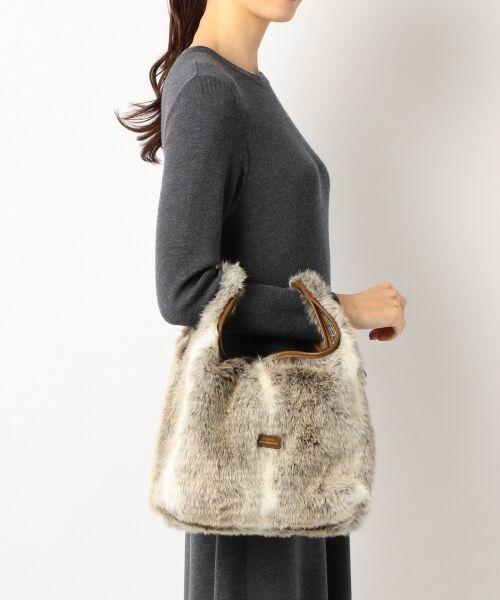 BAG selection / バッグ セレクション ショルダーバッグ | 【3WAY】シンプルショッパー フェイクファー | 詳細4