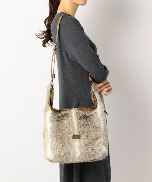 BAG selection / バッグ セレクション ショルダーバッグ | 【3WAY】シンプルショッパー フェイクファー | 詳細5
