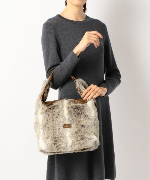BAG selection / バッグ セレクション ショルダーバッグ | 【3WAY】シンプルショッパー フェイクファー | 詳細13
