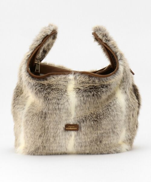 BAG selection / バッグ セレクション ショルダーバッグ | 【3WAY】シンプルショッパー フェイクファー | 詳細2