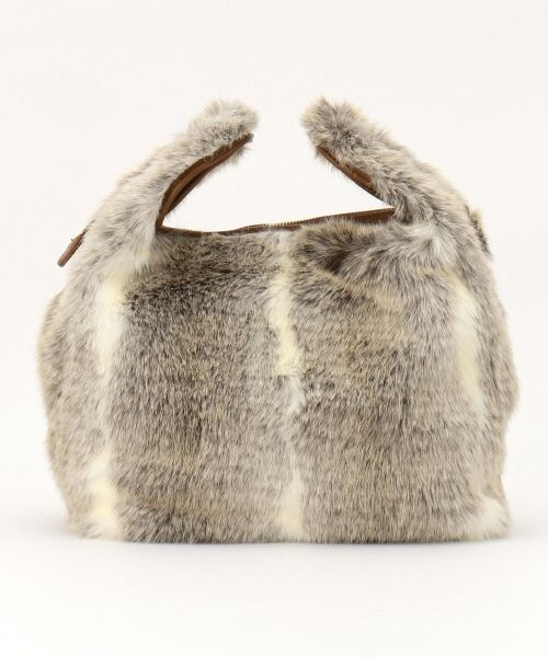 BAG selection / バッグ セレクション ショルダーバッグ | 【3WAY】シンプルショッパー フェイクファー | 詳細3