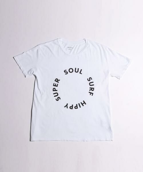 <QUALITY PEOPLES> SURF HIPPY WHITE/Tシャツ【送料無料】
