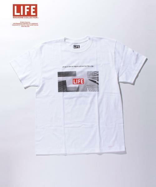 <タカシマヤ>送料無料!<LIFE x BY> ∴ NYC URBAN TEE/Tシャツ