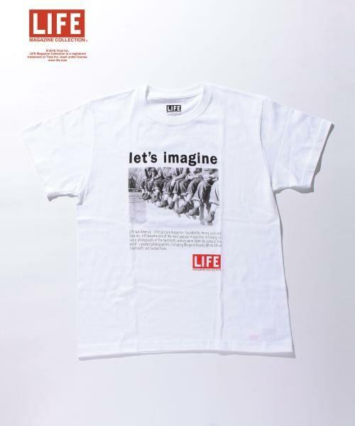<タカシマヤ>送料無料!<LIFE x BY> ∴ LEG TEE/Tシャツ