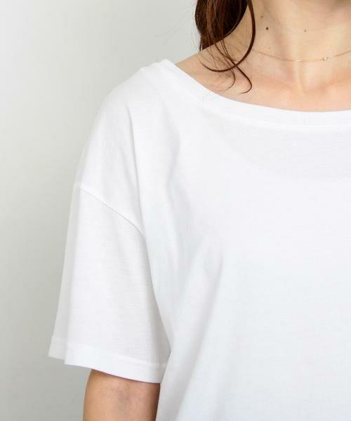 BEAUTY&YOUTH UNITED ARROWS / ビューティ&ユース ユナイテッドアローズ Tシャツ | 【WEB限定】by ※∴ラウンドネックショートスリーブTシャツ | 詳細5