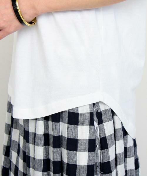 BEAUTY&YOUTH UNITED ARROWS / ビューティ&ユース ユナイテッドアローズ Tシャツ | 【WEB限定】by ※∴ラウンドネックショートスリーブTシャツ | 詳細6
