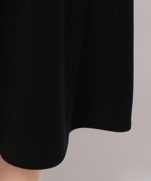 BLACK FORMAL / ブラックフォーマル カーディガン・ボレロ | フェステル経二重リボン アンサンブル | 詳細14