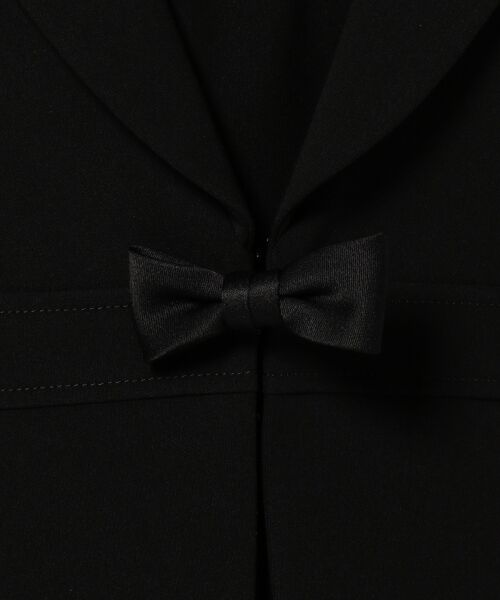 BLACK FORMAL / ブラックフォーマル カーディガン・ボレロ | フェステル経二重リボン アンサンブル | 詳細8