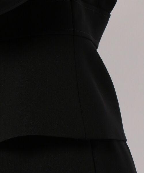 BLACK FORMAL / ブラックフォーマル カーディガン・ボレロ | フェステル経二重リボン アンサンブル | 詳細9