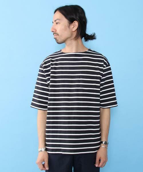 coen / コーエン Tシャツ   バスクビッグシルエットT   詳細5