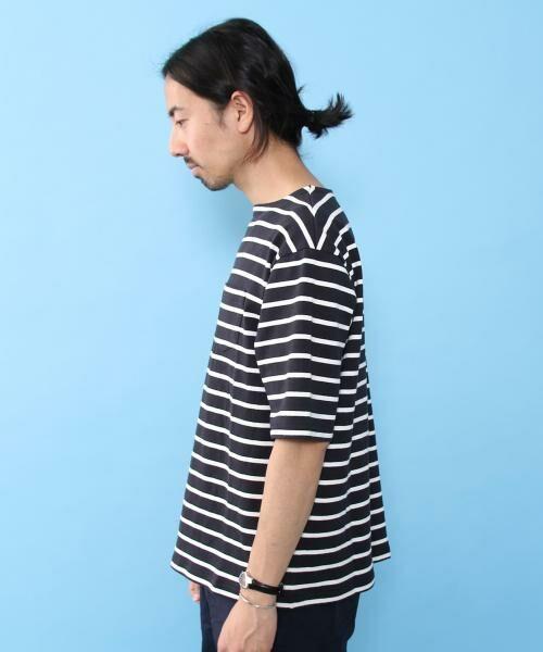coen / コーエン Tシャツ   バスクビッグシルエットT   詳細6