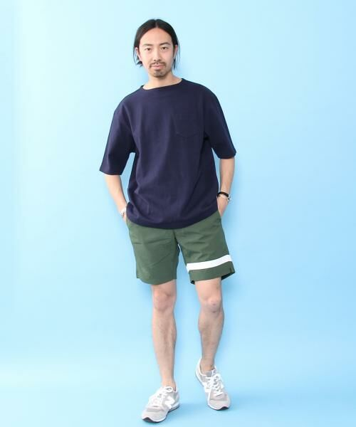 coen / コーエン Tシャツ   バスクビッグシルエットT   詳細14