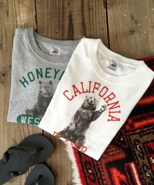 coen / コーエン ベビー・キッズウエア | 【coen キッズ / ジュニア】PARKIES(パーキーズ)クマフォトプリントTシャツ(100~150cm) | 詳細7