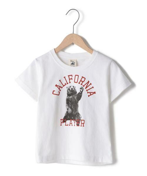 coen / コーエン ベビー・キッズウエア | 【coen キッズ / ジュニア】PARKIES(パーキーズ)クマフォトプリントTシャツ(100~150cm) | 詳細1