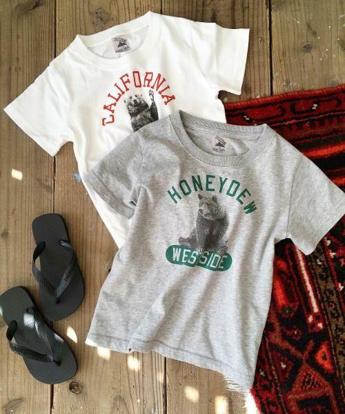 coen / コーエン ベビー・キッズウエア | 【coen キッズ / ジュニア】PARKIES(パーキーズ)クマフォトプリントTシャツ(100~150cm) | 詳細15