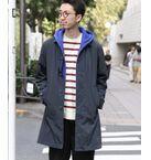 coen / コーエン ステンカラーコート   ステンカラーコート(別売TAIONダウンベスト装着可)