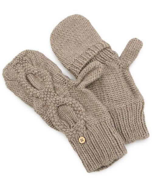 DGBH / ディージービーエイチ 手袋 | チェスナット・ミトンズ(ブラウン)