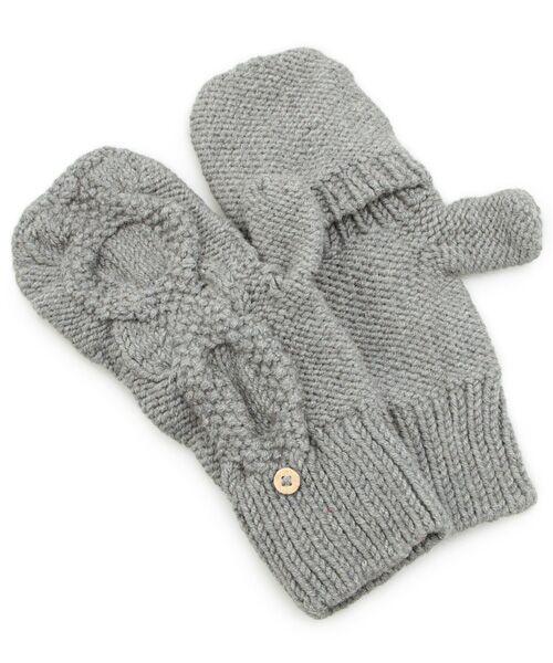 DGBH / ディージービーエイチ 手袋 | チェスナット・ミトンズ(グレイ)