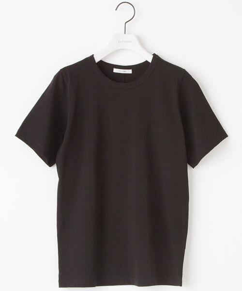 70/2コットンバイオクルーネック Tシャツ【送料無料】