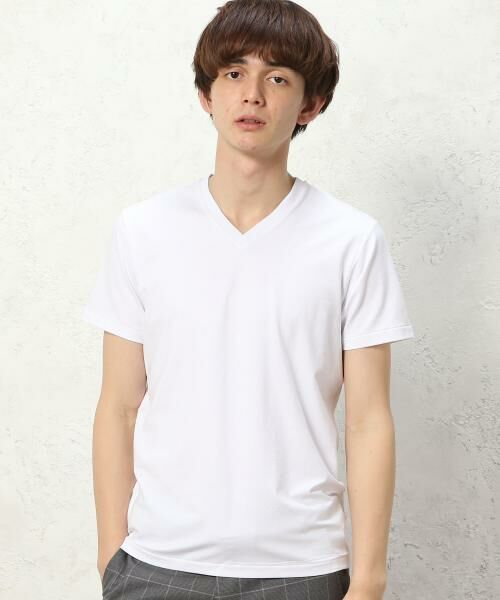 <タカシマヤ> 送料無料! ★MXP FINE DRY Vネック Tシャツ