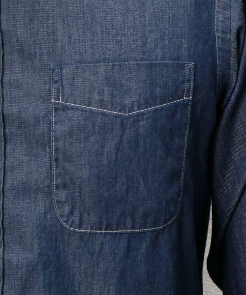 green label relaxing / グリーンレーベル リラクシング シャツ・ブラウス | BC INDIGO DRESS/SER BD-N シャツ | 詳細9