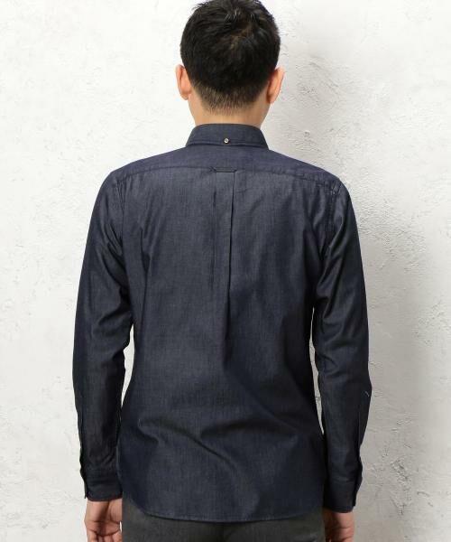 green label relaxing / グリーンレーベル リラクシング シャツ・ブラウス | BC INDIGO DRESS/SER BD-N シャツ | 詳細11