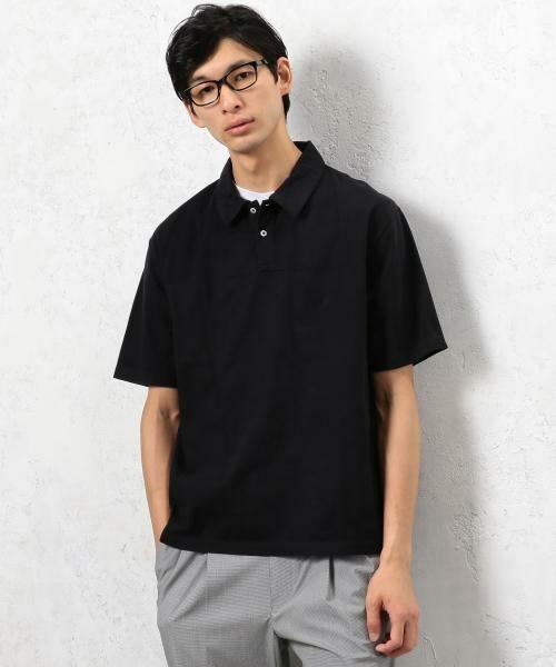 green label relaxing / グリーンレーベル リラクシング Tシャツ | SC ソフトフィール ポロシャツ(ブラック)