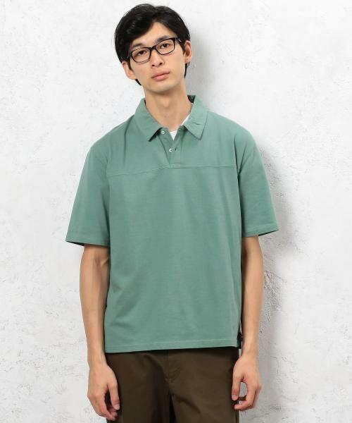 green label relaxing / グリーンレーベル リラクシング Tシャツ | SC ソフトフィール ポロシャツ(ライム)