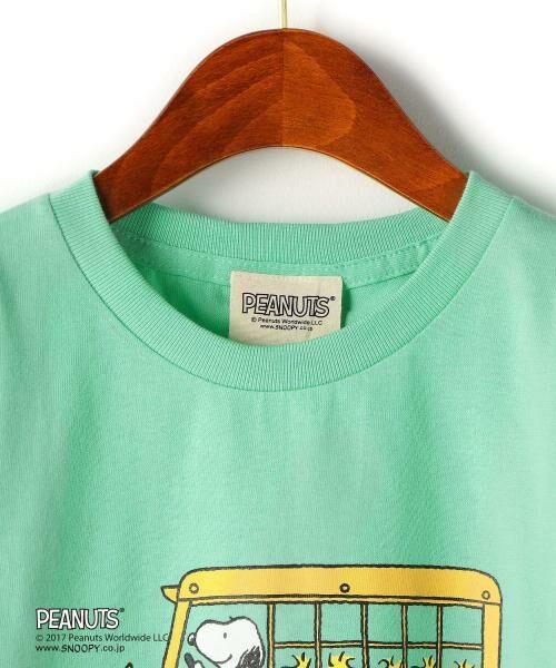green label relaxing / グリーンレーベル リラクシング ベビー・キッズウエア | 【ジュニア】別注 チャーリー・ブラウン バス | 詳細2