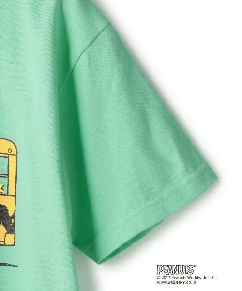 green label relaxing / グリーンレーベル リラクシング ベビー・キッズウエア | 【ジュニア】別注 チャーリー・ブラウン バス | 詳細3