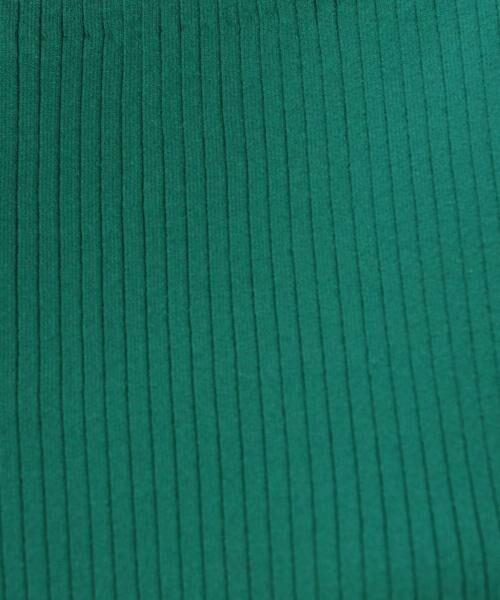 green label relaxing / グリーンレーベル リラクシング ニット・セーター | 【CLASSY.10月号掲載】[手洗い可能] KC リブ スクエアネック ニット | 詳細18