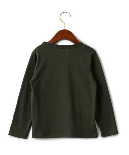 green label relaxing / グリーンレーベル リラクシング ベビー・キッズウエア | WEB限定【キッズ】LEE(リー) クルーネック ポケット Tシャツ | 詳細11