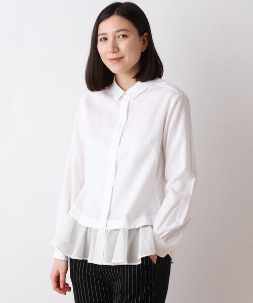 C/Tenピンオックス切替シャツ【送料無料】