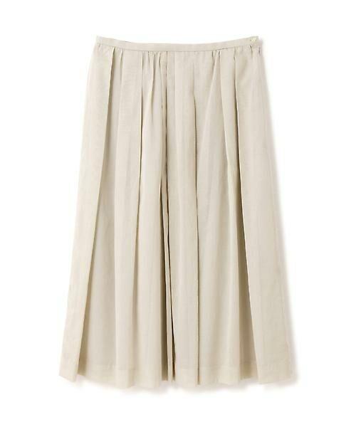 HUMAN WOMAN / ヒューマンウーマン スカート | 100/2コットンオーガンジースカート | 詳細1