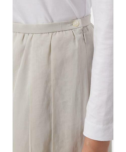 HUMAN WOMAN / ヒューマンウーマン スカート | 100/2コットンオーガンジースカート | 詳細5