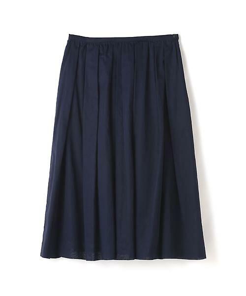 HUMAN WOMAN / ヒューマンウーマン スカート | 100/2コットンオーガンジースカート | 詳細9