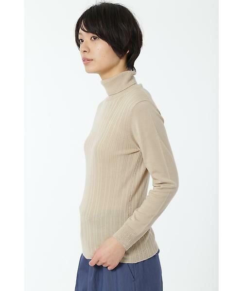 HUMAN WOMAN / ヒューマンウーマン ニット・セーター | WOOL BASIC 3ニット | 詳細15