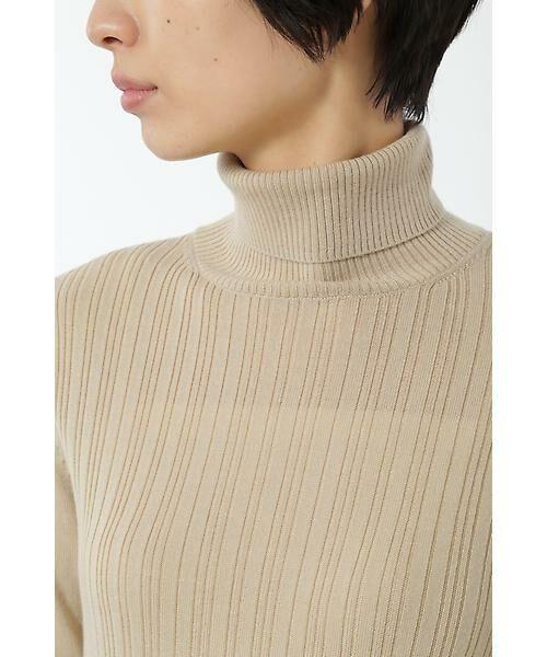 HUMAN WOMAN / ヒューマンウーマン ニット・セーター | WOOL BASIC 3ニット | 詳細17