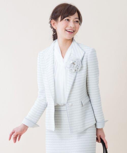 【セレモニースーツ】カラミリリヤーン ジャケット