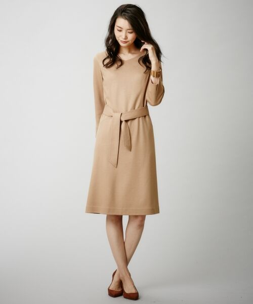 J.PRESS / ジェイプレス ドレス | 1/60ウール圧縮スムース ワンピース | 詳細3