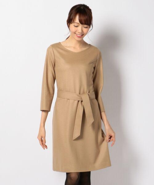 J.PRESS / ジェイプレス ドレス | 1/60ウール圧縮スムース ワンピース | 詳細6